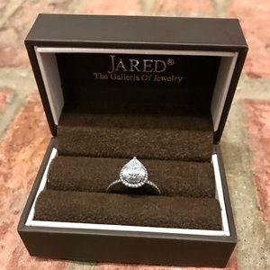 Pear Shaped Pandora Ring